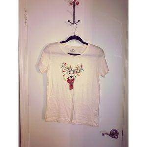 J Crew - Reindeer Light Collectors T-shirt